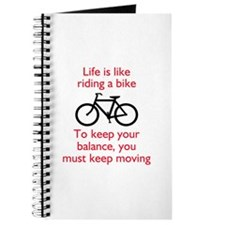 Life Is Like Riding A Bike Journal