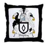 Shipley Family Crest Throw Pillow