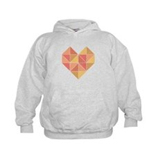 Geometric Heart Hoodie