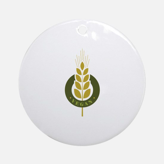 Vegan Grain Ornament (Round)