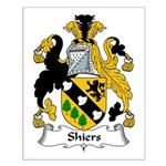 Shiers Family Crest Small Poster