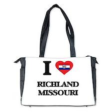 I love Richland Missouri Diaper Bag