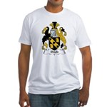Shield Family Crest Fitted T-Shirt