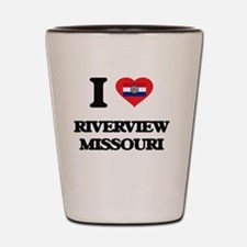 I love Riverview Missouri Shot Glass