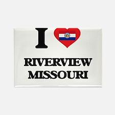 I love Riverview Missouri Magnets