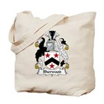 Sherwood Family Crest Tote Bag