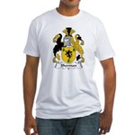 Sherman Family Crest Fitted T-Shirt