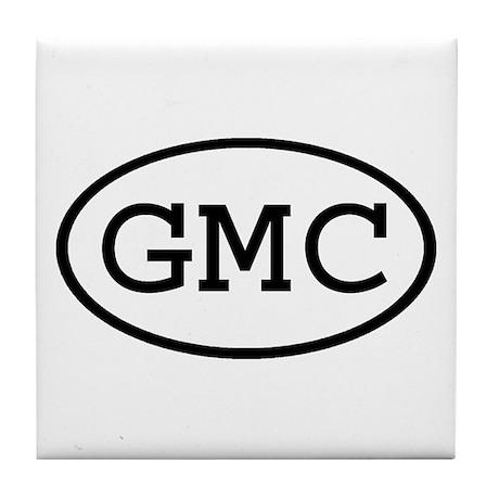 GMC Oval Tile Coaster