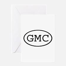 GMC Oval Greeting Card