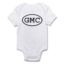 GMC Oval Infant Bodysuit
