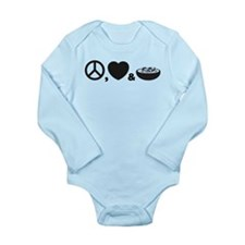Gumbo Long Sleeve Infant Bodysuit