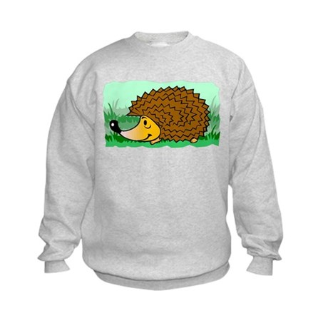 Happy Hedgehog Kids Sweatshirt