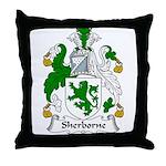 Sherborne Family Crest Throw Pillow