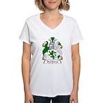 Sherborne Family Crest Women's V-Neck T-Shirt