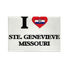 I love Ste. Genevieve Missouri Magnets