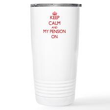 Keep Calm and My Pensio Travel Mug