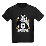 Shepley Family Crest Kids Dark T-Shirt