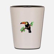 Toucan Shot Glass