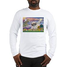 Cloud Angel & Shih Tzu  Long Sleeve T-Shirt