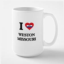 I love Weston Missouri Mugs