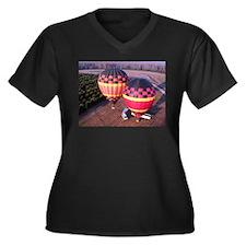 Hot Air Balloons 6 Plus Size T-Shirt
