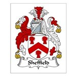 Sheffield Family Crest Small Poster