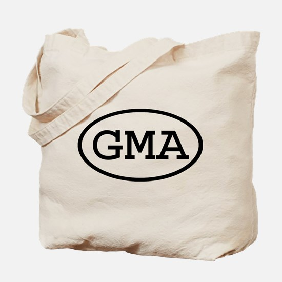 GMA Oval Tote Bag