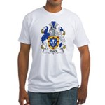 Sharp Family Crest Fitted T-Shirt