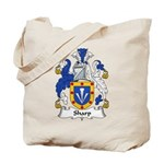 Sharp Family Crest Tote Bag