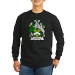Shapley Family Crest Long Sleeve Dark T-Shirt