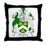 Shapley Family Crest Throw Pillow