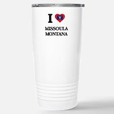 I love Missoula Montana Stainless Steel Travel Mug