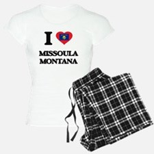 I love Missoula Montana Pajamas