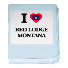 I love Red Lodge Montana baby blanket