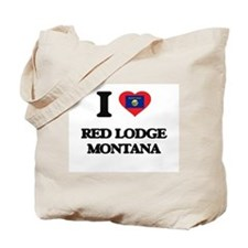 I love Red Lodge Montana Tote Bag