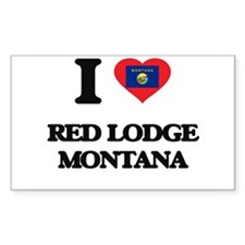 I love Red Lodge Montana Decal