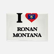 I love Ronan Montana Magnets