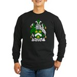 Shapleigh Family Crest Long Sleeve Dark T-Shirt