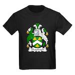 Shapleigh Family Crest Kids Dark T-Shirt