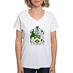Shapleigh Family Crest Women's V-Neck T-Shirt