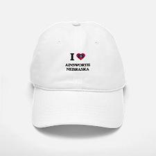 I love Ainsworth Nebraska Baseball Baseball Cap