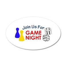 Join Us For Game Night Wall Decal