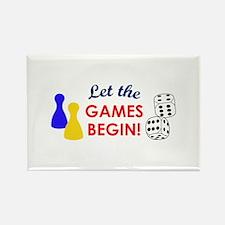 Let The Games Begin! Magnets