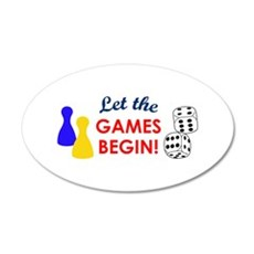 Let The Games Begin! Wall Decal