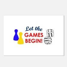 Let The Games Begin! Postcards (Package of 8)