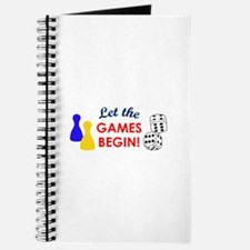 Let The Games Begin! Journal