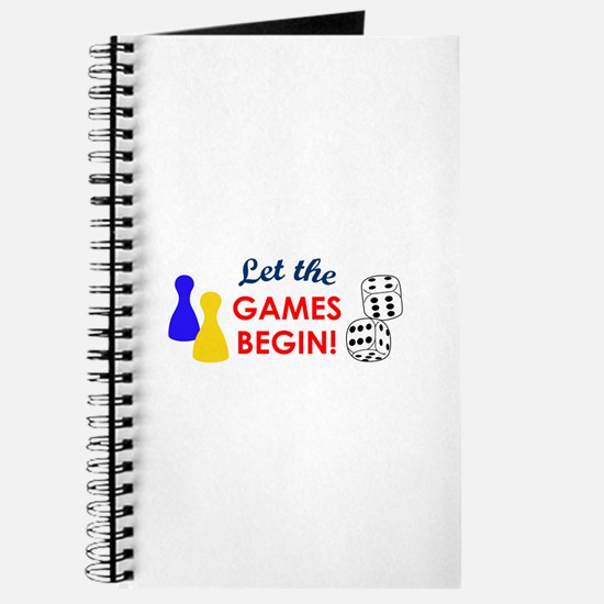 Let The Games Begin! Journal