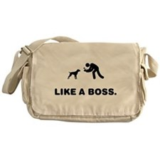 German Wirehaired Pointer Messenger Bag