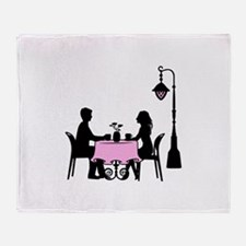 Cafe Throw Blanket