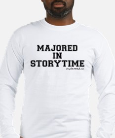 Majored In Storytime Long Sleeve T-Shirt